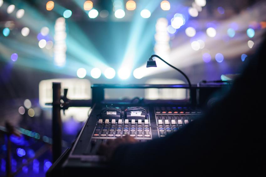 Mikrofon und Lautsprecher